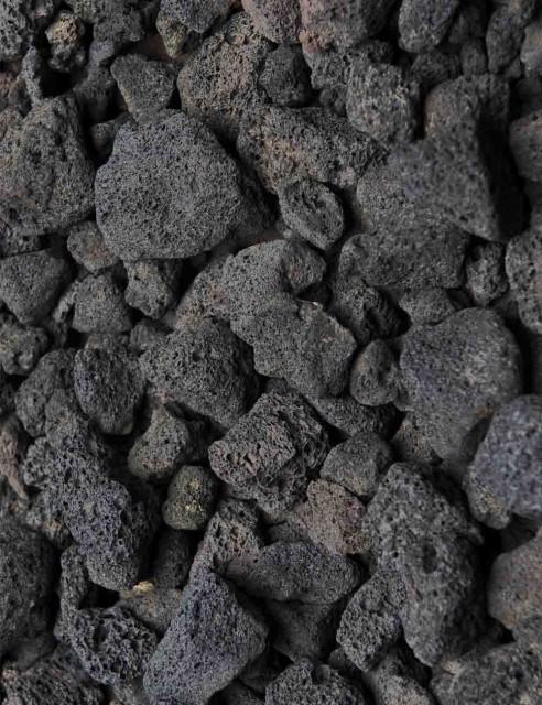 Piedras Volcánicas Negras...