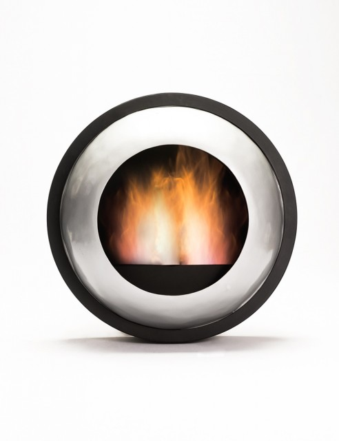 Chimenea Ojo de Fuego Plata